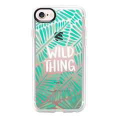 Wild Thing - Mint Palette on Transparent - iPhone 7 Case And Cover ($40) ❤ liked on Polyvore featuring accessories, tech accessories, iphone case, transparent iphone case, iphone cover case, iphone cases, mint iphone case and mint green iphone case