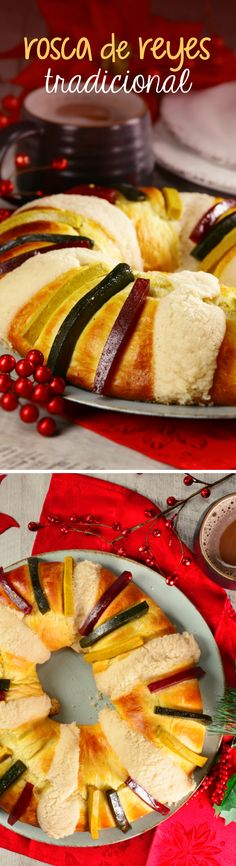 Receta fácil para preparar Rosca de Reyes en casa. Conoce todo sobre este delicioso pan dulce mexicano y su tradición con kiwilimón.