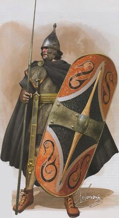 Celt warrior from Kristolafson's GauloisCeltes