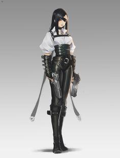 Character Design Girl, Character Design References, Character Design Inspiration, Character Concept, Character Art, Fantasy Characters, Female Characters, Badass Women, Character Portraits