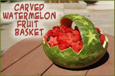 Carved Watermelon Fr