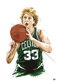 ideas sport basketball larry bird for 2019 Celtics Basketball, Basketball Legends, Sports Basketball, Sports Art, Basketball Players, Basketball Couples, Basketball Signs, Basketball Tattoos, Indoor Basketball