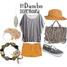 Dumbo, created by lalakay on Polyvore.  i would look good in this