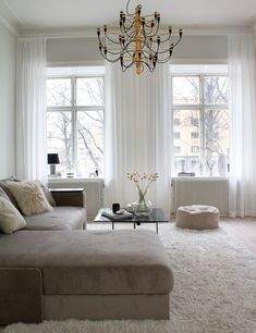 Living Room Inspiration, Interior Design, Interior Ideas, Bedroom Furniture, Sweet Home, Room Decor, House Design, Curtains, Decoration