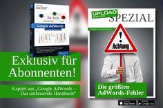 Neues UPLOAD Spezial: Teure AdWords-Fehler vermeiden