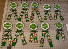 Fun and inventive ways to display badges and patches for your Girl Scout troop! Girl Scout Uniform, Girl Scout Patches, Girl Scout Swap, Girl Scout Leader, Girl Scout Troop, Brownie Girl Scouts, Girl Scout Cookies, Junior Girl Scout Badges, Girl Scout Bridging