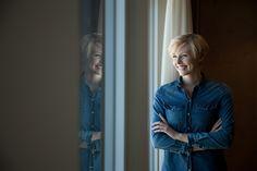 Caroline in Zimmer 301 Modern, Denim, Jackets, Fashion, Homes, Down Jackets, Moda, Trendy Tree, Fashion Styles