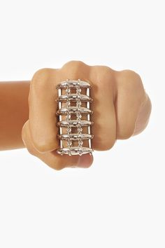 Armor Knuckle Ring - you never know who you're gonna meet in a dark alley...