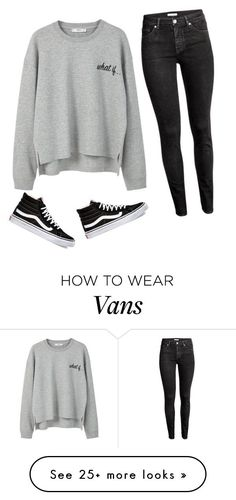 What If... by liveloveshopfashion on Polyvore featuring MANGO, H&M and Vans