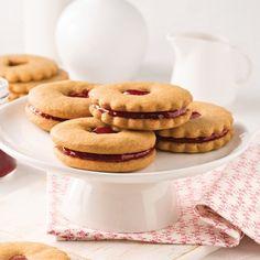 Biscuits à la confiture - Recettes - Cuisine et nutrition - Pratico Pratique