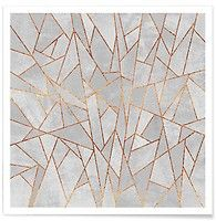 Shattered Concrete - Elisabeth Fredriksson - Premium Poster