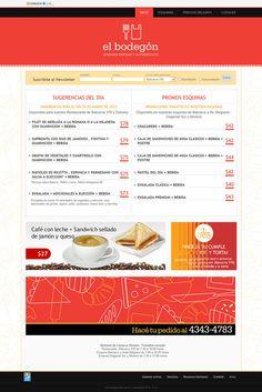 Sitio web Restaurante El Bodegon (San Telmo) - Diseño y Desarrollo: http://integralmedia.com.ar
