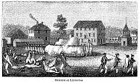 Battle of Lexington Concord