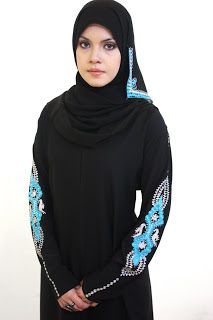 New Arabic Abaya Designs 2013
