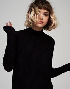 coupe de cheveux au carré femme idée coupe courte