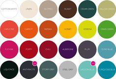 Fermob Color Guide 2015