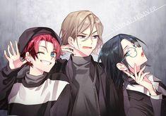 画像 Anime Best Friends, Friend Anime, Cute Anime Boy, Anime Art Girl, Manga Drawing, Drawing Faces, Anime Siblings, Anime Friendship, Anime Group