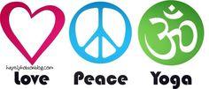 #peace, #love, #yoga