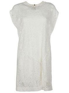 MCQ ALEXANDER MCQUEEN Mcq Alexander Mcqueen Lace Dress. #mcqalexandermcqueen #cloth #dresses