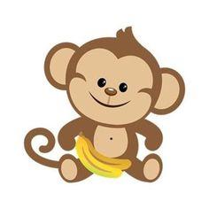 free monkey clip art images cute baby monkeys dey all axed for rh pinterest com cute monkey clipart free cute monkey clipart black and white