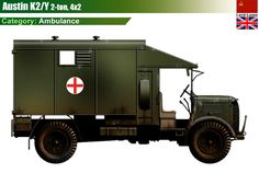 Austin K2/Y British Tanks, British Army, Operation Sea Lion, Ww2 Tanks, World Of Tanks, Military Equipment, Modern Warfare, Military History, Diorama