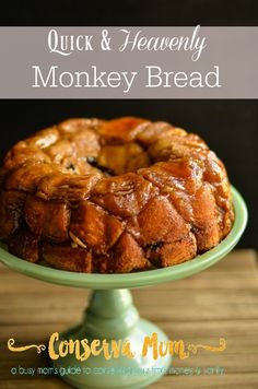 A delicious Quick & Heavenly Monkey Bread recipe, perfect for your next gathering, play date or just because. Ooey & Gooey and quick to make!