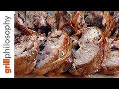 ΚΟΚΟΡΕΤΣΙ - 6 ΒΑΣΙΚΕΣ ΛΕΠΤΟΜΕΡΕΙΕΣ - (Kokoretsi - 6 Basic Steps ENG subs) - YouTube Greek Beauty, Baking Recipes, Recipies, Stuffed Mushrooms, Turkey, Meat, Vegetables, Baked Food, Cooking