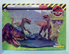 Lost World Jurassic Park Velociraptors Revell Monogram Snaptite 1:25 Model NEW