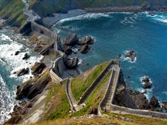 Vizcaya San Juan de Gaztelugache Walk on the world's most beautiful stairs
