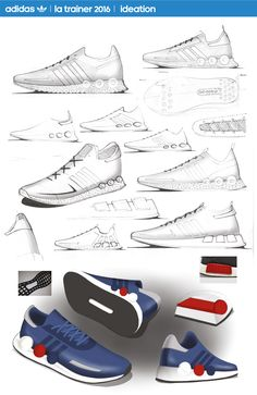 Adidas originals: project 2 on behance sneakers sketch, presentation layout, fashion portfolio, Adidas Originals, The Originals, Best Sneakers, Sneakers Nike, Sport Fashion, Nike Fashion, Fashion Flats, Sneakers Sketch, Shoe Sketches