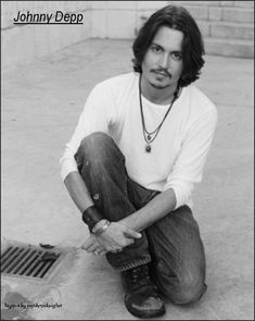 Johnny Depp (all men seriously need to consider this haircut...it's perfect)