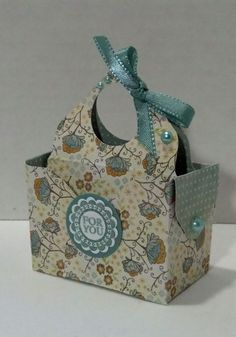 Envelope punch board tote by muscrat - Cards and Paper Crafts at…