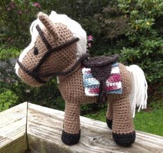 This is for the PDF file of the pattern only. Doll and accessories is not included.  This pattern will help you to make a horse amigurumi doll