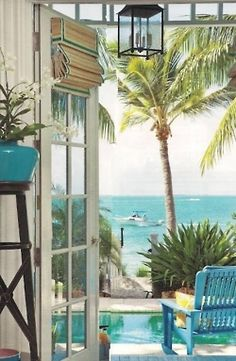 """""""A seaview from my room"""" • by Beautiful Rooms http://mybeautifulrooms.blogspot.ca/2012_04_01_archive.html#"""