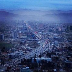 This is modern day Kabul Afghanistan.