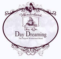 Wonderland Tea Label | Flickr - Photo Sharing!