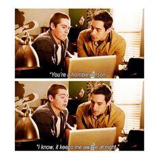 Stiles: Sarcasm at its finest