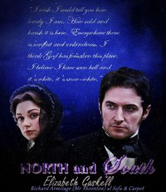 NORTH AND SOUTH BBC 2004 JOHN THORNTON AND MARGARET HALE