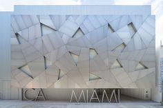 Poma manufactured this facade for the Spanish studio Aranguren + Gallegos Arquitectos has designed a new home for ICA Miami, which opens to the public on December Jean Nouvel, 2017 Design, Art Design, Design Miami, Design Museum, Art Museum, Miami Beach, Art Basel Miami, Art Miami