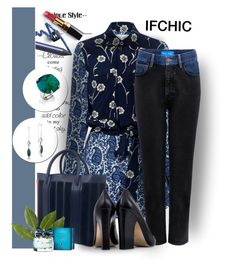 """""""Show us your Ifchic style!"""" by manuela-cdl ❤ liked on Polyvore featuring 10 Crosby Derek Lam, Mother of Pearl, M.i.h Jeans, Dee Keller, Chanel, Tommy Hilfiger, ifchic and worldwideshipping"""