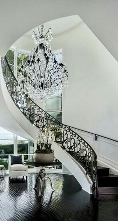 trendy Ideas house entrance steps railings : trendy Ideas house entrance steps railings You can find Railing. Dream Home Design, My Dream Home, Home Interior Design, Grand Staircase, Staircase Design, Hotel Decor, House Entrance, Grand Entrance, Luxury Homes