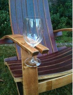 La chaise parfaite pour amateurs de vin : )