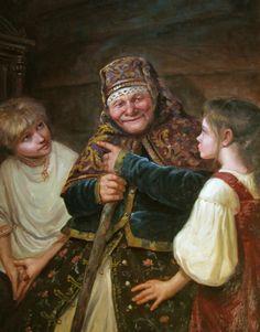Сказка – картина художника Андрея Шишкина