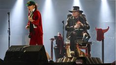 """Rolling Stone on Twitter: """"Axl Rose triumphs at AC/DC debut in Lisbon"""