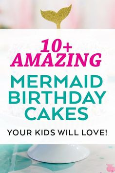 AMAZING Ideas for Mermaid Birthday Cakes that your kid will LOVE - even some DIY Mermaid Cakes! List curated by Pineapple Paper Co. Girls Birthday Party Themes, Fun Party Themes, 6th Birthday Parties, Birthday Party Favors, Diy Birthday, Party Ideas, Birthday Ideas, Diy Ideas, Decor Ideas
