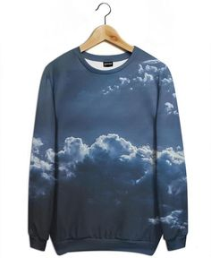 The Ray as All-Over Print Sweatshirt by Pale Grain | JUNIQE