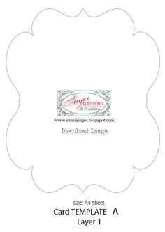 Scallop Edged Border Shapes Templates Templates For