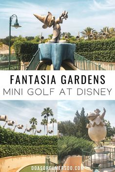 A little known secret is that Walt Disney World has its own miniature golf course right on property! #wdw #disneyworld #fantasiagardens #disneyminigolf Things to do at disney | Things to do at disney without a park ticket | disney world mini golf | Fantasia Gardens | disney tips | disney tricks Best Disney World Restaurants, Disney World Food, Walt Disney World, Disney World Vacation Planning, Disney Planning, Disney Vacations, Disney World Tips And Tricks, Disney Tips, Disney Tickets