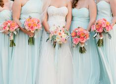 pink and seafoam green / flowers by The Conservatorie / photo by chelseyboatwright.com