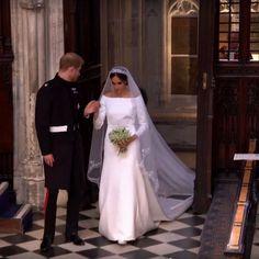 royal wedding 2018 meghan markle givenchy wedding dress prince harry (19) -- The 2018 Royal Wedding of Meghan Markle and Prince Harry   Wedding Inspirasi #wedding #weddings #bridal #weddingdress #bride ~